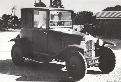 10 HP Type A Coupé Doctor 1919