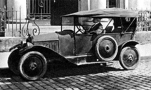 10 HP Type A Torpedo 1919 official photo
