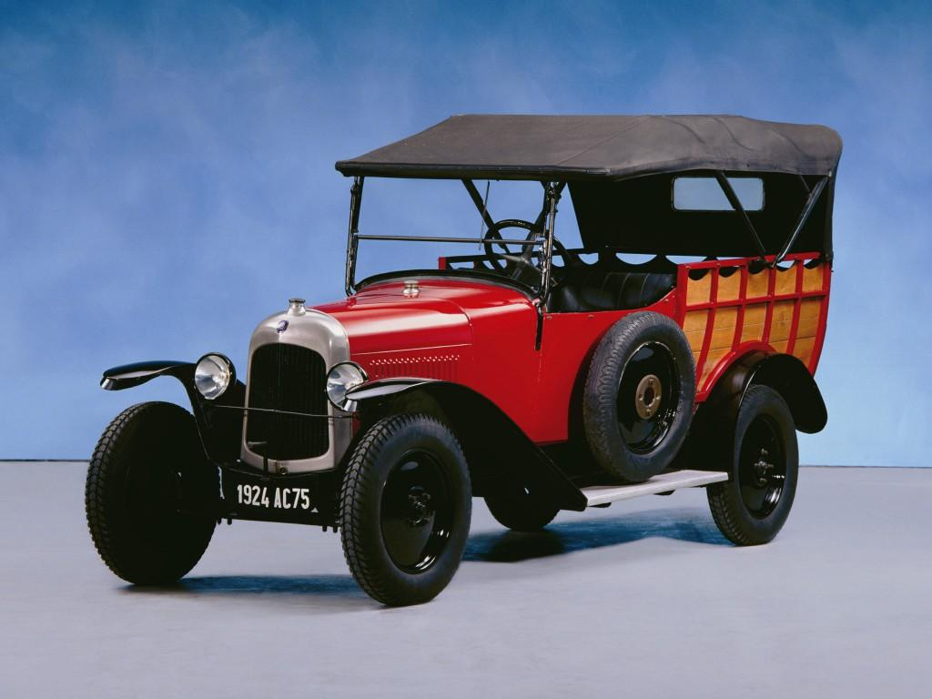 10 HP Type B2 Normande 1924 successor to the Type A