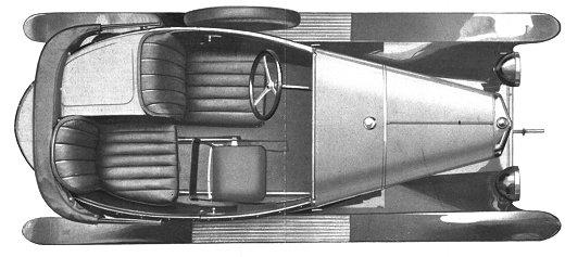 5 HP Torpedo 3 places 1923