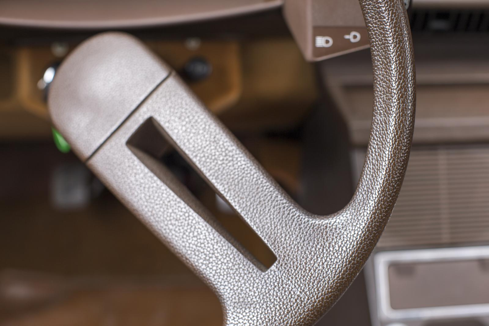 CX steering wheel detail