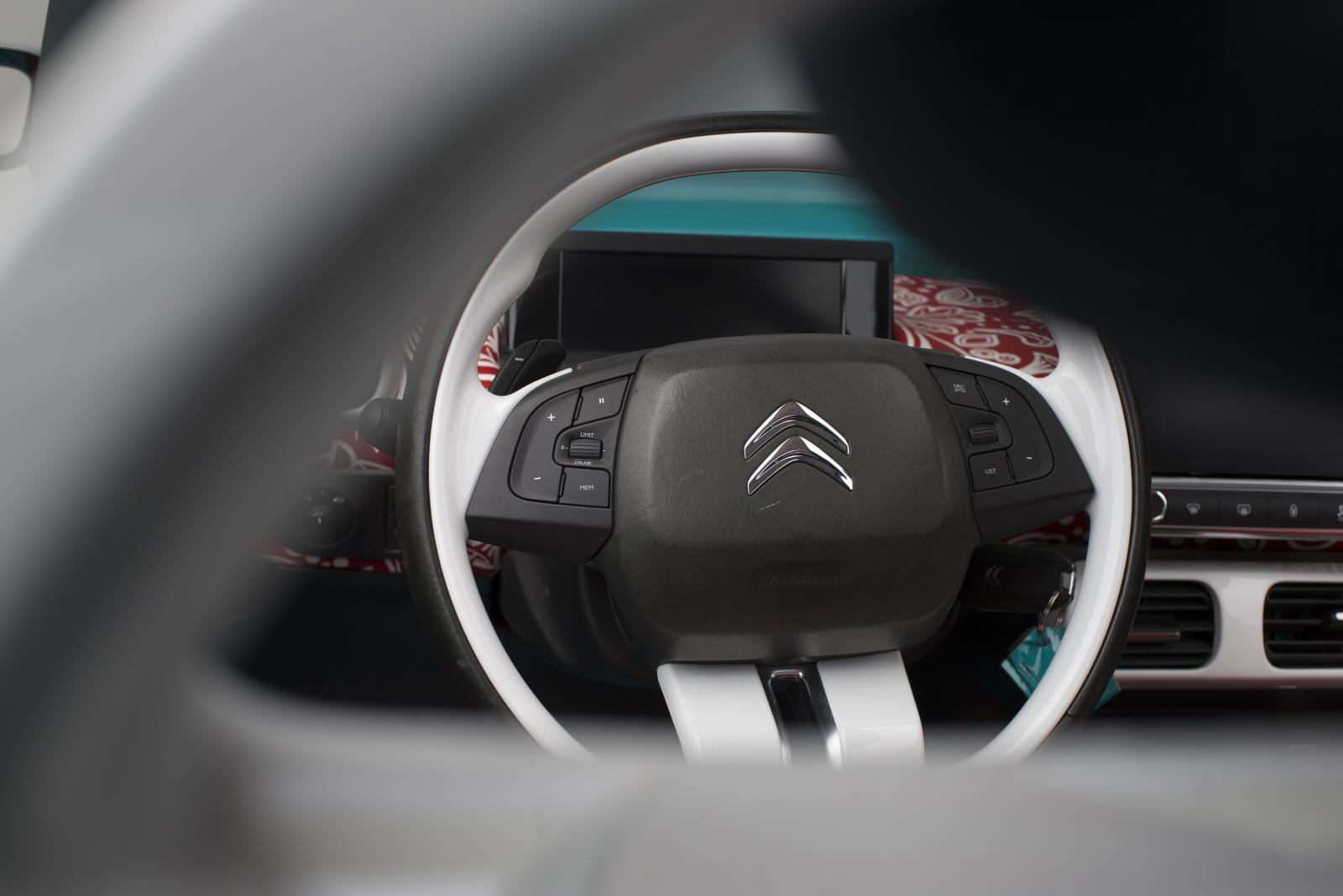 CACTUS M 2015 steering wheel