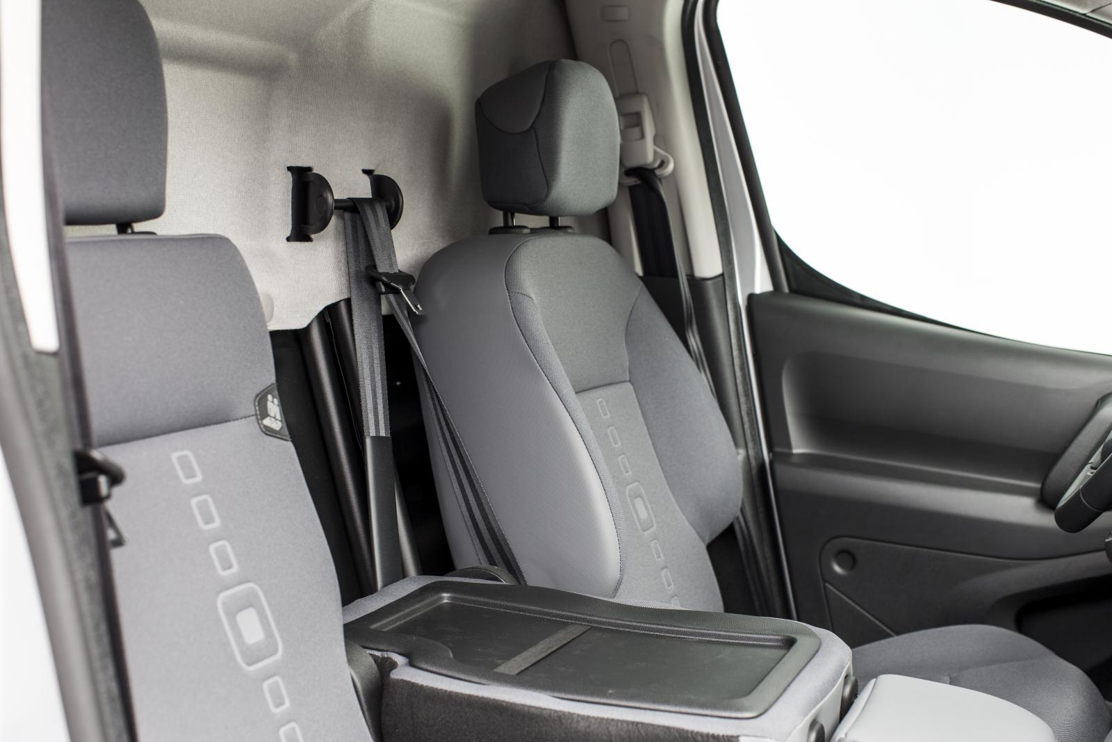 Berlingo 2 seat folded down