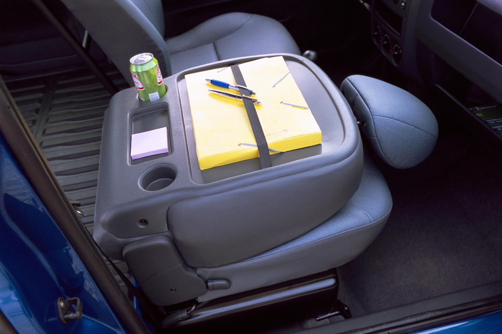 Berlingo 2002 seat folded down