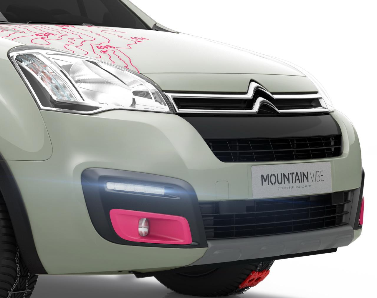 Berlingo Mountain Vibe 2015 front