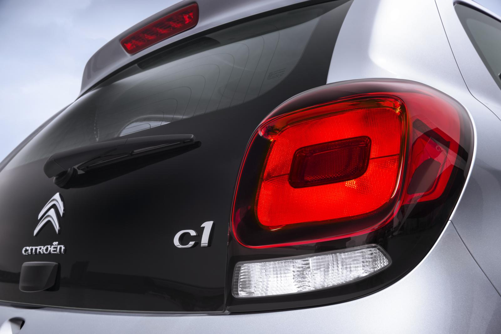 C1 2014 rear light