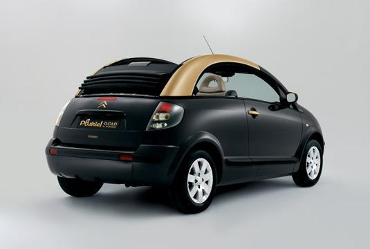 C3 Pluriel Gold by Pinko 2008 rear 3/4