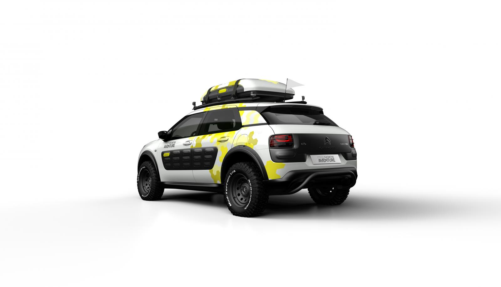 Concept-car C4 Cactus Adventure 2014 rear 3/4