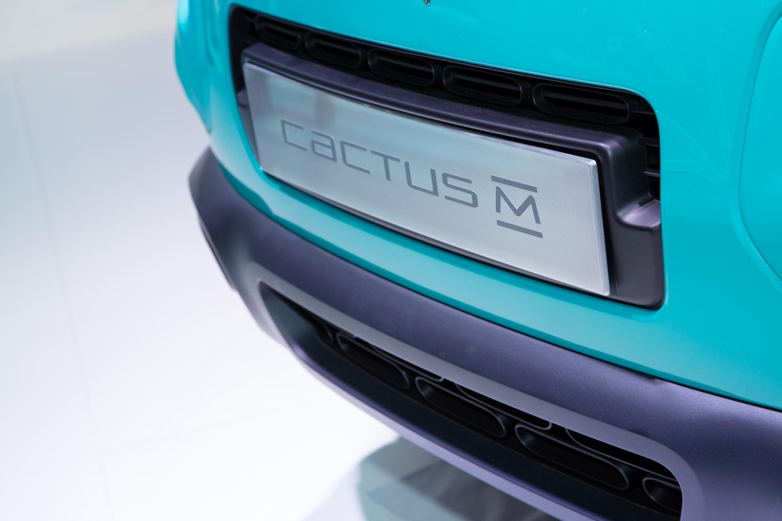 CACTUS M 2015 front plate