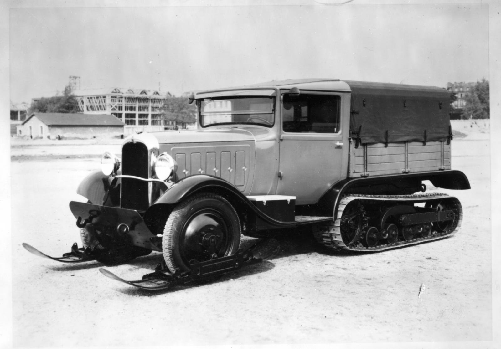 Half-Track C6 - Expedition Byrd