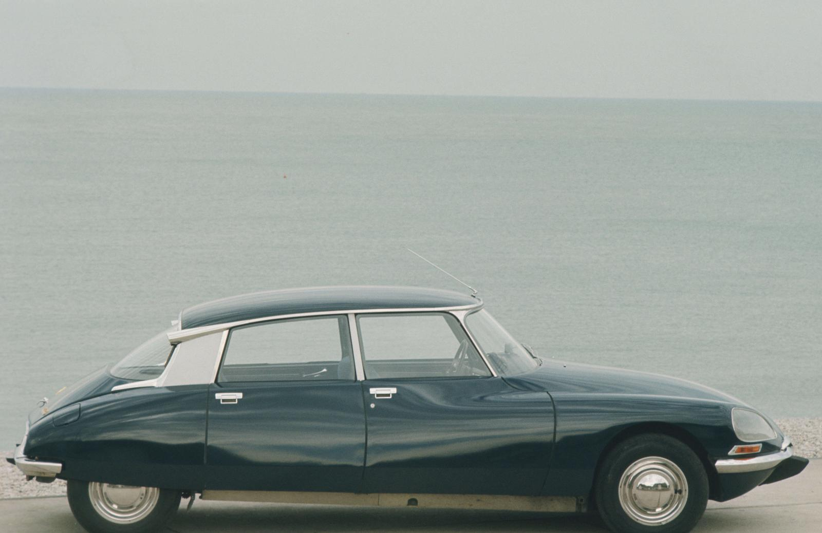 Citroën DS 21-1968-Seaside