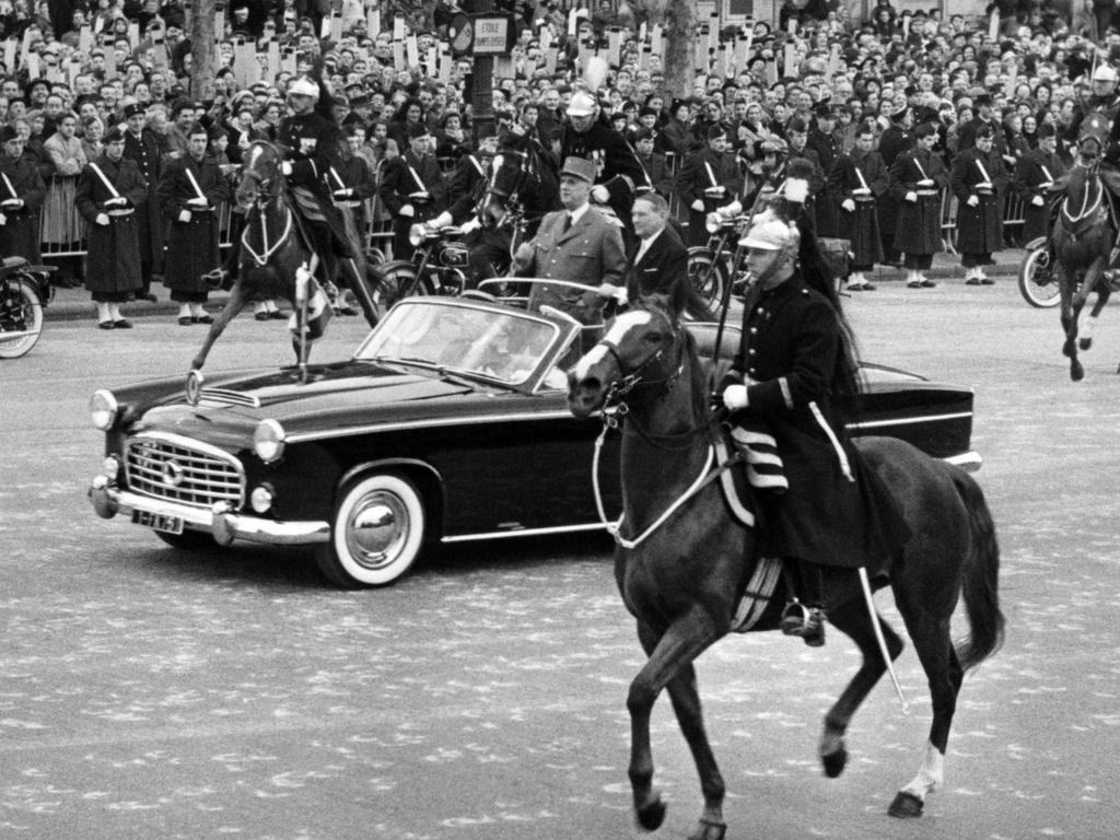 Presidential Traction 15 SIX by Chapron 1957