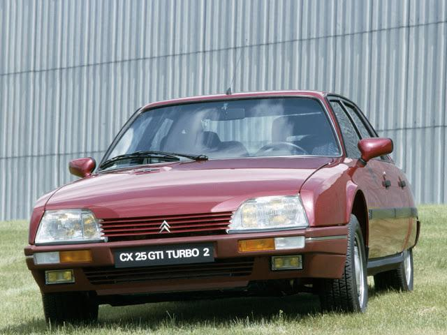 CX GTI TURBO 25 February 1986 XM predecessor