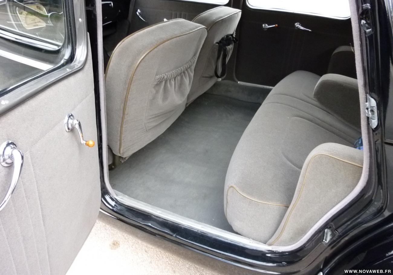 Traction 15 SIX backseat