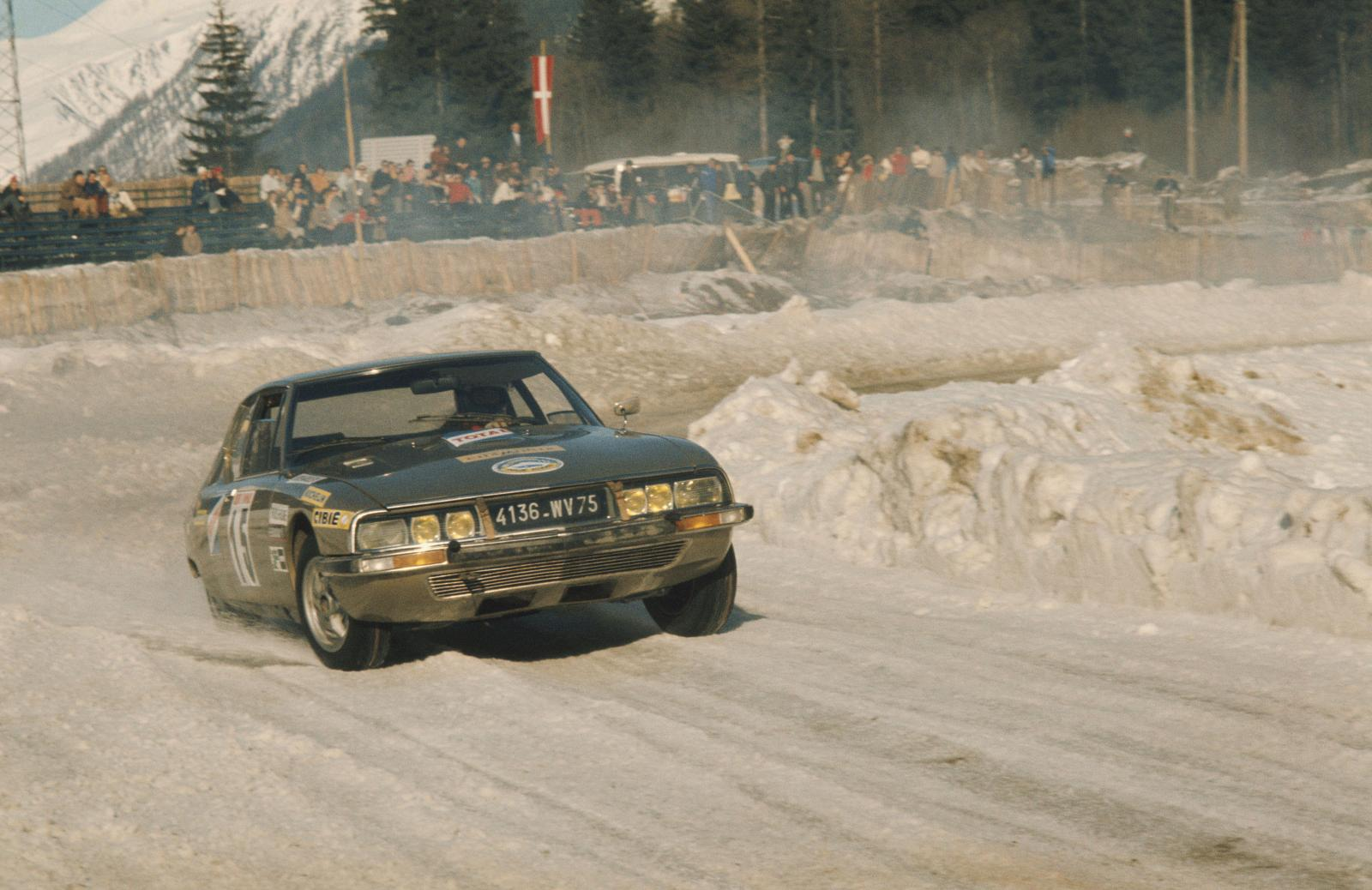 Winter round of Chamonix - SM - 1972