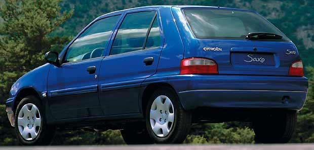 Saxo 5 Doors Model 2000 replaced by the C3